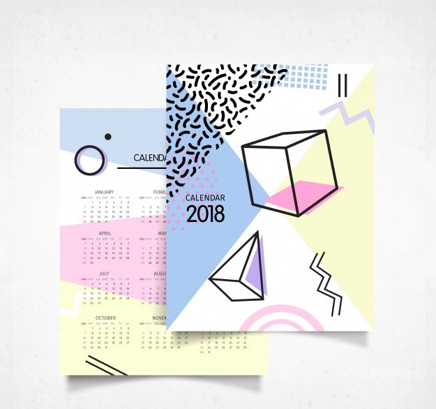 custom printed photo calendar