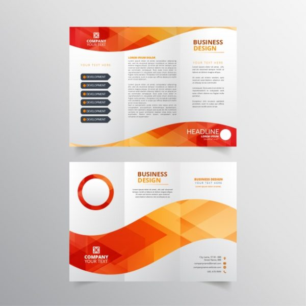tri fold brochures printing