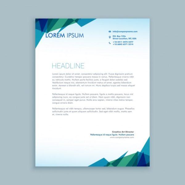 custom printed letterheads