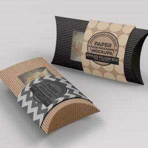 cheap custom pillow boxes